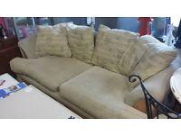 large 2 seater Sofa & Armchair