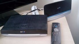 BT TV Kit and Router