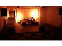 Rehearsal Space/Room to Hire - Marmalade Drum Workshops