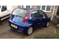 Fiat punto blue