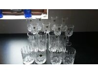 royal doulton lead cystal glasses