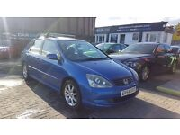 """STUNNING"" HONDA CIVIC SE EXECUTIVE 1.6 (2004) - 5 DOOR HATCH - LOW MILEAGE - SAT NAV - HPI CLEAR!"