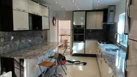 kitchen design/installation;carpentry;painting;tiling;plumbing;full refurbishment,etc.