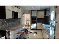 kitchen design/installation;carpentry;painting;tiling;plumbing;full refurbishment,etc.