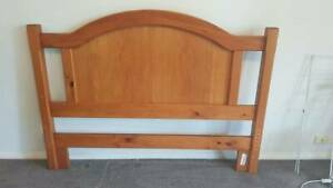 Wooden queen bed and mattress Hackett North Canberra Preview