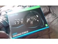 Logitech G920 Driving Force Racing Wheel (Xbox One and PC)
