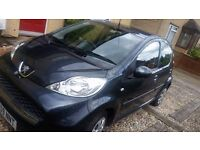 PEUGEOT 107 URBAN, 2010,LOW MILEAGE 27,000,PETROL,NEW MOT,FULL SERVICE HISTORY,ONLY £20 ROAD TAX