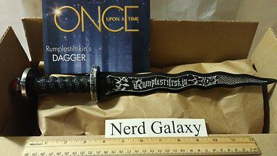 Once Upon A Time Rumplestiltskin Costume Dagger Storybrooke REPAINT Toy Rumple