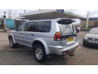 *ONLY 69,000 MILES* MITSUBISHI SHOGUN SPORT EQUIPPE TD 2.5 4X4 (2004) -NEW MOT TOW BAR - HPI CLEAR!