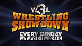 Sunday September 23rd W3L Wrestling Showdown