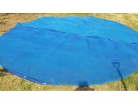 Various swimming pool covers - 15ft, 10ft, 8ft & 12ft solar floating cover
