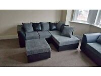BEST PRICE BYRON CORD CORNER OR 32 SEATER SOFA SET AVAILABLE IN STOCK