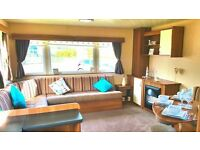 Central Heated Caravan For Sale At The 12 Month Season Sandylands Saltcoats Near Wemyss Bay