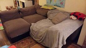 Corner Sofa, 3 parts, L shape