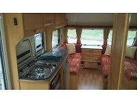 Elddis Avante 505 2006. 5 berth Family tourer caravan very good condition,