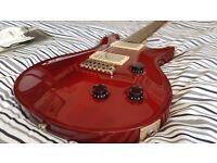 PRS USA CE22 - Stunning Cherry Red - Dragon II P'ups!