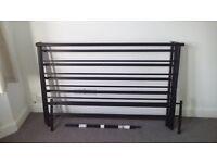 King size metal frame bed