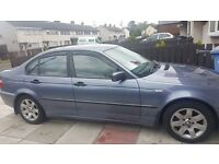 2002 bmw 318i very good condiction new brake pads and serive done last week £ 900 ovno