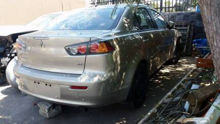 WRECKING 2010 Mitsubishi Lancer CY cheap parts. gold sedan Botany Botany Bay Area Preview