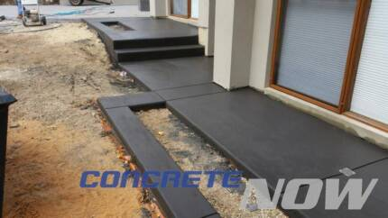 CONCRETE NOW - from $66per sqm for grey...from $99 exposed.