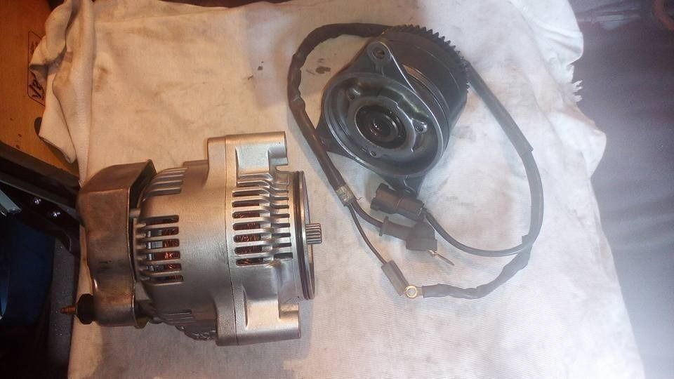 Honda St1100 40amp Alternator Pan European Complete Upgrade Kit In Cleethorpes Lincolnshire