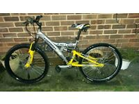 falcon dual suspension bike not BMX off road, saracen carerra barracuda diamondback hybrid READY TO