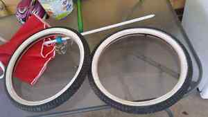 20 inch white wall tyres Hackham Morphett Vale Area Preview