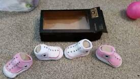 Baby converse socks