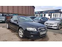 """STUNNING"" AUDI A6 2.0 TDI S-LINE (2007) - 6 SPEED - SAT NAV - LEATHER - MOT - 2 KEYS - HPI CLEAR!"