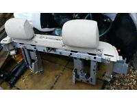 BMW E93 Rollover Bars, Seatbelts and Headrests - Cream