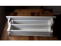 wall mounted drying rack, white