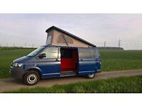 VW T5 campervan, automatic, LWB conversion