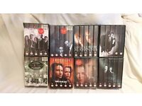 The full set of X Files on VHS