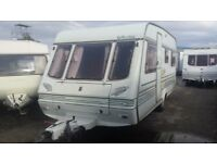 1996 compass 590 elddis swift ace sterling 4/5 berth Caravan ( new year day sale)