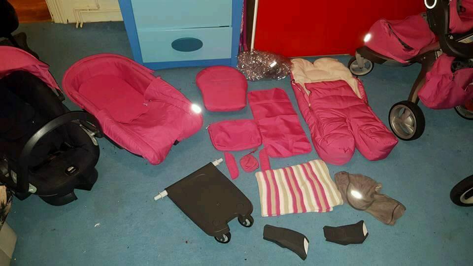 stokke xplory v3 limited edition pink
