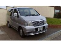 Nissan elgrand automatic (e50) with the legendary 3.2 diesel engine