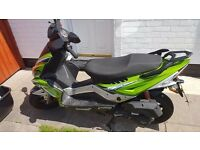 Lexmoto 125cc scooter 4 months old excellent condition