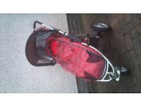 Quinny Speedi XS (red reflections)for sale