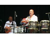 Percussionist Available, conga, bongo, timbales, cajon, drum kit