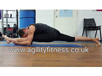 Yoga stretch and strength classes. Improve your strength and your flexibility. Enjoyable classes.