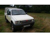 Toyota Hilux 4x4 2001 2.4 turbo diesel double cab NO VAT