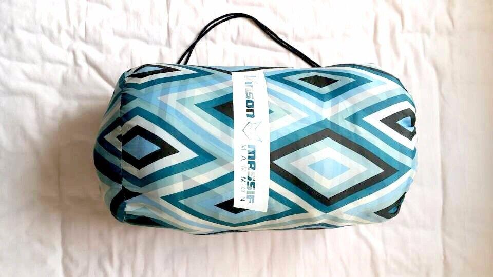 Single Sky blue Sleeping Bag -just used once!
