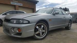 WRECKING Nissan Skyline R33 GTS Series 2 -- ALL PARTS -- Wingfield Port Adelaide Area Preview