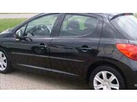 2006-56 Peugeot 207 sport hdi 1.6cc full glass roof park sensors alloys 96k history mot & tax £995
