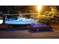Westerly Windrush 25 foot cruiser full working order