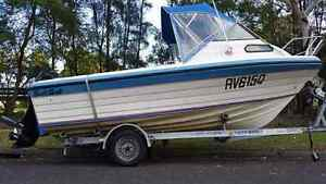 5.2Mtr SWIFTCRAFT MARINER CUDDY CABIN 115 Hp Four Stroke Mercury Lakemba Canterbury Area Preview