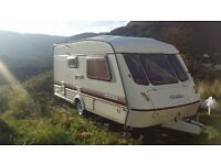 ELDDIS HURRICANE GTX 2 BERTH CARAVAN EASY PROJECT LARGE END BATHROOM