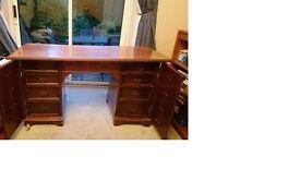 Mahogany Top Desk