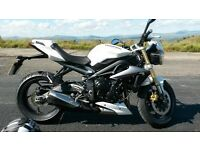 Triumph Street Triple 2014, 54 plate. Low mileage
