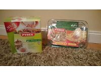 PYREX DISHES - BRAND NEW IN BOX